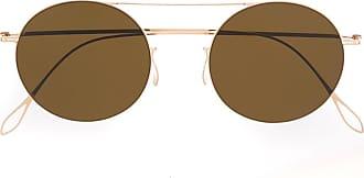Haffmans & Neumeister Óculos de sol redondo - Dourado