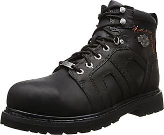 Harley-Davidson Harley-Davidson Mens Chad ST Motorcycle Safety Boot, Black, 10.5 M US