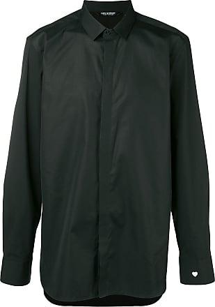 Neil Barrett Camisa clássica estampada - Preto