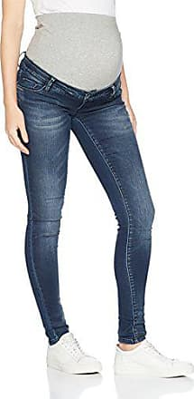 Umstandshose MAMALICIOUS Damen MLLOLA Straight UNW Blue Jeans NOOS A