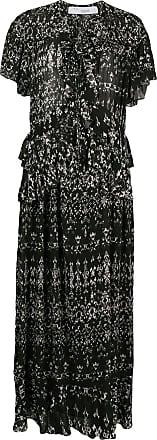 Iro Planty abstract-print dress - Black
