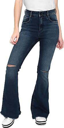 Oh, Boy! Calça Jeans OH BOY Flare Barra Desfiada Azul