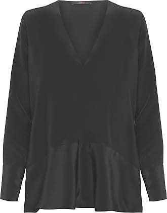 Animale CAMISA FEMININA SEDA EXOTIC LISA - PRETO