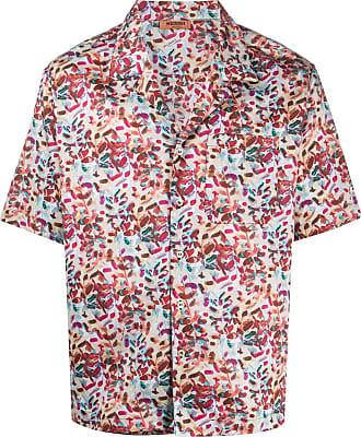 Missoni Camisa mangas curtas com estampa abstrata - Neutro