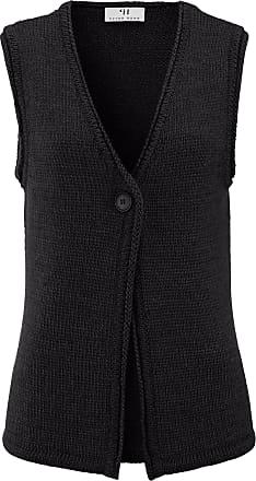 Peter Hahn Knitted gilet Peter Hahn black