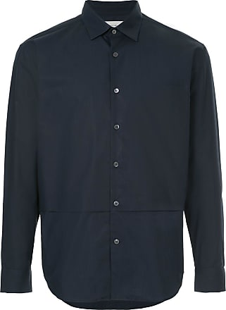 Cerruti layered detail shirt - Blue