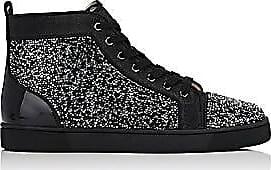 036a4e6917d Christian Louboutin Mens Louis Flat Sneakers - Black Size 9.5 M