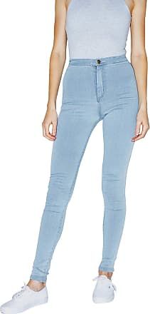 American Apparel Womens The Easy Jean, Light Wash, Medium
