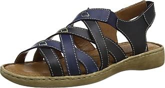 Josef Seibel Womens Lisa 03 Ankle Strap Sandals, Blue (Ocean-Combi), 8 UK 42 EU