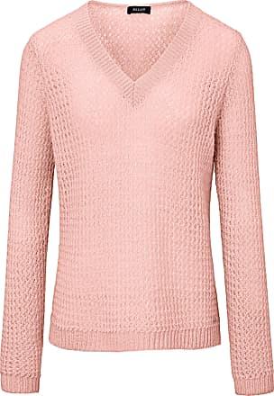 Basler V-neck jumper Basler pale pink