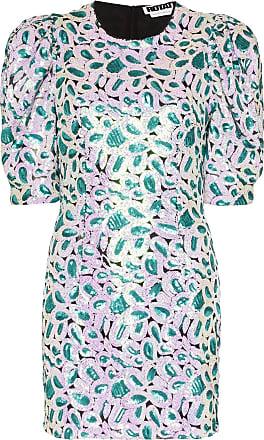 Rotate Vestido mini Christina com paetês - Verde