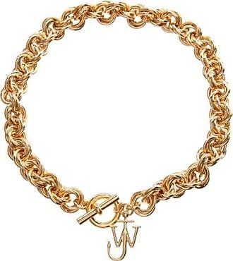 J.W.Anderson Jw-charm Gold-plated Choker - Womens - Gold