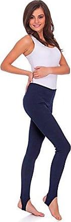 Volle Länge Royal Blau Premium Baumwollleggings Dehnbar Gym-Hosen Größen 8-22