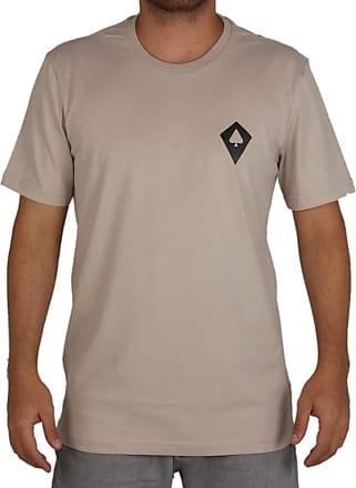 MCD Camiseta Regular Mcd Logo - Bege - GG