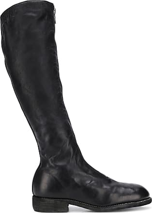 Guidi knee-length zip boots - Preto