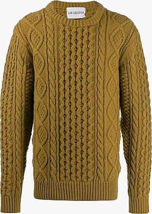 Han Kjobenhavn Suéter decote careca de tricô - Verde