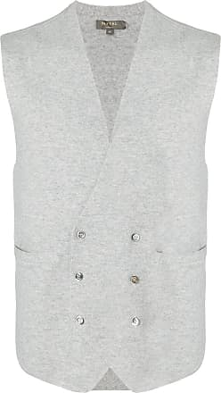 N.Peal double breasted waistcoat - NEUTRALS