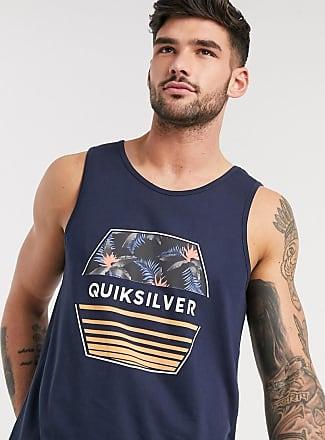 Quiksilver Drift Away - Canotta blu navy