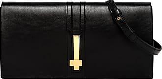 Gianni Chiarini preziosa medium black clutch bag