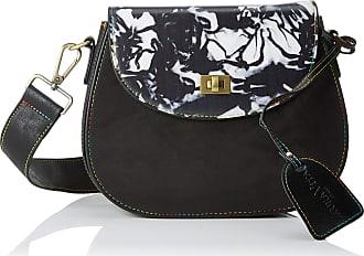 Laura Vita 2613, Womens Shoulder Bag, Black (Ner), 6.0x18.0x23.0 cm (W x H L)