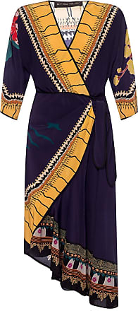 Etro Patterned Silk Dress Womens Multicolour