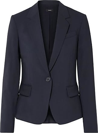 Theory Gabe Stretch-wool Blazer - Navy