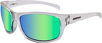 Dirty Dog 53509 Crystal Crystal Shock Rectangle Sunglasses Polarised Driving Lens Category 3 Lens Mirrored Size 58mm
