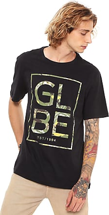 Globe Camiseta Globe Camo Preta
