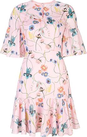 Borgo De Nor Vestido Alba com estampa floral - Rosa