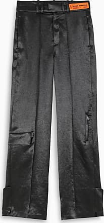 HPC Trading Co. Black wide leg trousers