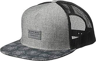 be22407f3f1f0f Rip Curl Mens Patch Trucker Mesh Hat, Hollies Black, 1SZ