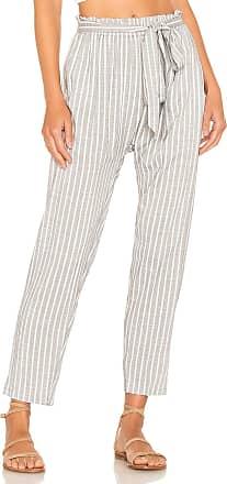Eberjey Amalfi Stripe Hudson Pant in Gray