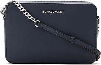 Michael Michael Kors Bolsa tiracolo de couro - Azul