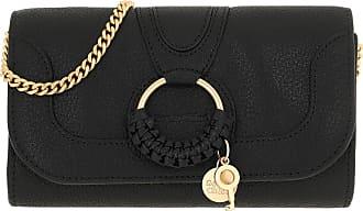 See By Chloé Cross Body Bags - Hana Wallet On Chain Black - black - Cross Body Bags for ladies