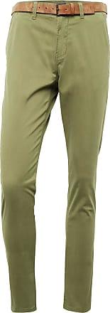 Tom Tailor Chino Hose mit Gürtel, Herren, Cedar Green, Größe: 32/34