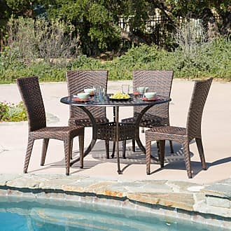 BEST SELLING HOME Outdoor Brooke 5 Piece Patio Dining Set - 294951