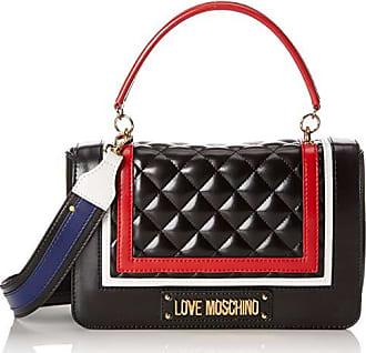 ddf1c0bedf Love Moschino Quilted Pu Mix Multi, femme, Noir (Nero), 15x10x15 cm