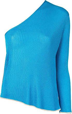 Forte_Forte Suéter com manga canelada - Azul