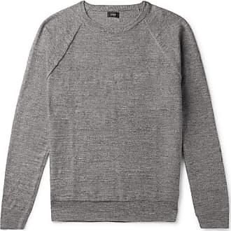 J.crew Mélange Cotton Sweater - Gray