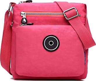 GFM Womens Nylon Waterproof Cross Body Shoulder Bag (S2-2020-HLLL)