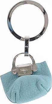 Longchamp Portachiavi con Pendente in Pelle taglia Unica