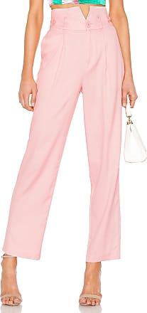 Fleur du Mal V Waist Trouser in Pink