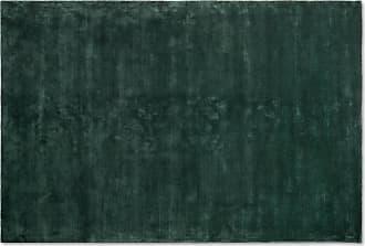 MADE.COM Merkoya Teppich (200 x 300 cm), Pfauenblau