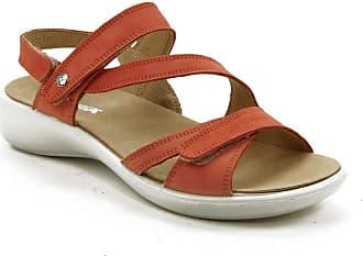 Romika Ibiza 105 Plus Size Sandals Rose 16105 001 020 Large Ladies Shoes Orange Size: 6 UK