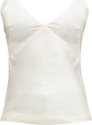 Haider Ackermann V-neck Satin Camisole - Womens - Cream