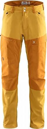 Fjällräven Abisko Midsummer Trousers Trekkinghose für Herren | orange/braun