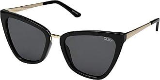 Quay Eyeware Quay x JLo Reina (Black/Smoke) Fashion Sunglasses
