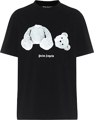 Palm Angels T-shirt in cotone con stampa
