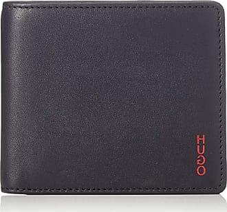 bfb514e74c HUGO BOSS 50407566, Portafogli Uomo Nero Nero (Black) 1.5x9.5x11 cm