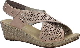 Rieker 62484-31 Rosa/ROS (Rose Gold) Womens Sandals 39 EU